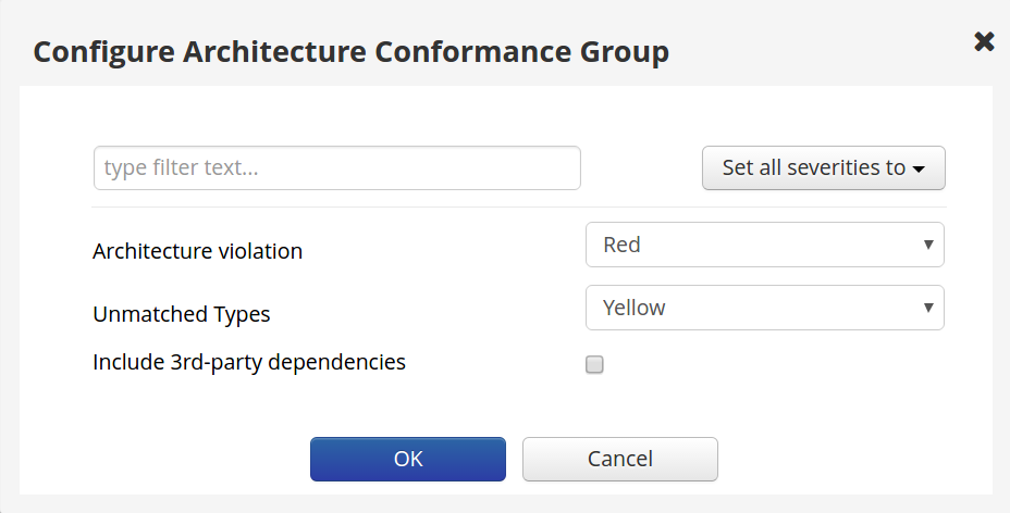 Configuring the Architecture Quality Indicator