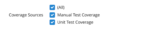 Coverage Source for Test Gap Analysis